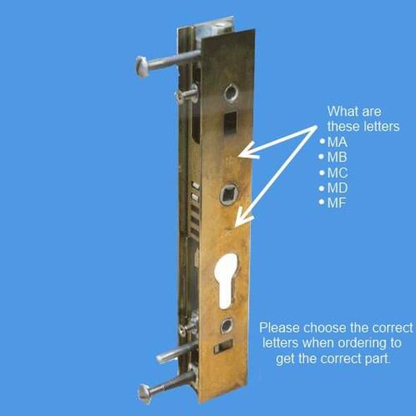 Schlegel Patio Door Lock Case - SCHLEGEL28