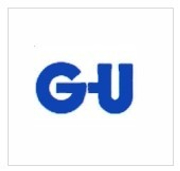 GU Multipoint OLD style, 2 Small Hooks tongues, Lift Lever L/L, 40mm Backset