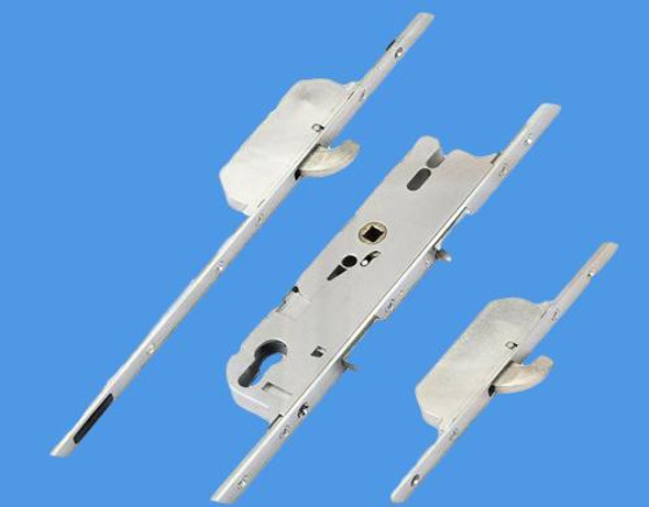 GU Multipoint NEW style, 2 Hooks, Split Spindle S/S, 20mm Faceplate