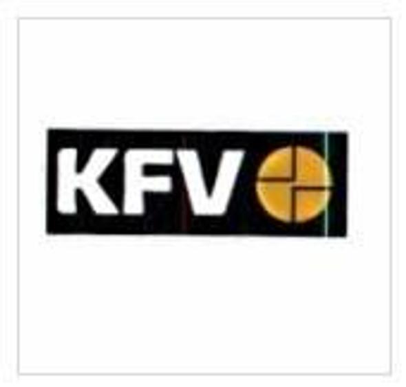 KFV Multipoint, 4 Rollers, Key Wind K/W, Flat 16mm Faceplate, 35mm Backset