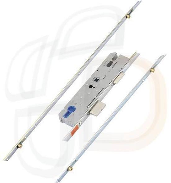 KFV Multipoint, 4 Rollers, Key Wind K/W, Flat 16mm Faceplate, 45mm Backset