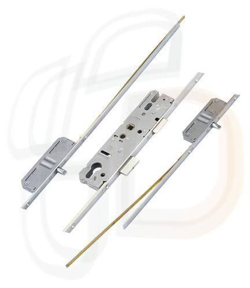 KFV Multipoint, 2 Pins, Attachments for Shootbolts, Lift Lever L/L, 35mm Backset
