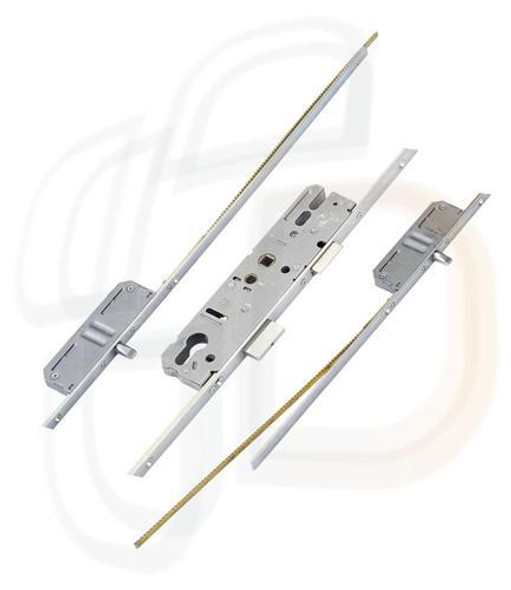 KFV Multipoint, 2 Pins, Attachments for Shootbolts, Lift Lever L/L, 45mm Backset