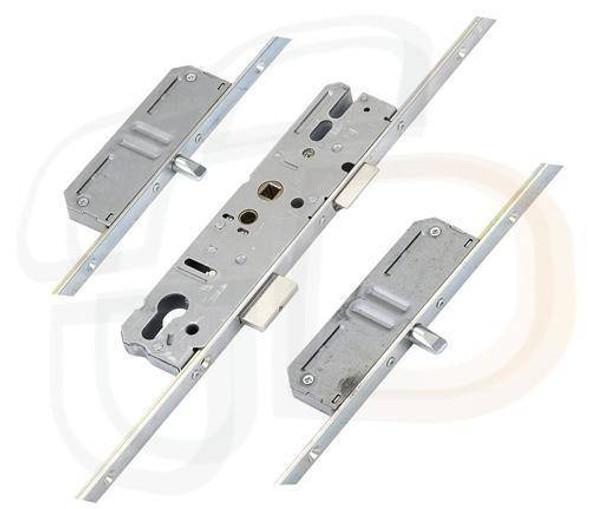 KFV Multipoint, 2 Pins, Key Wind K/W, U-Rail 24mm Faceplate, 35mm Backset
