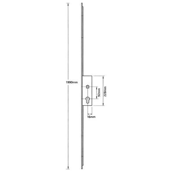 Millenco Mantis 3 Slave Lock - MA80011SA