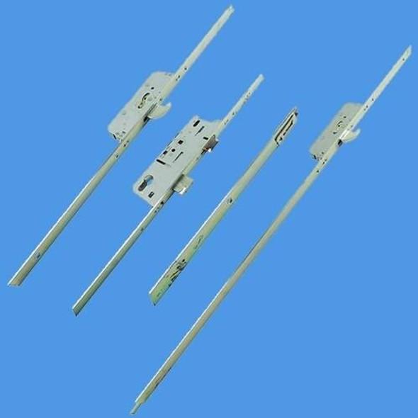 Fuhr 45/92 2/H French Door Lock L/L - M6B6513S