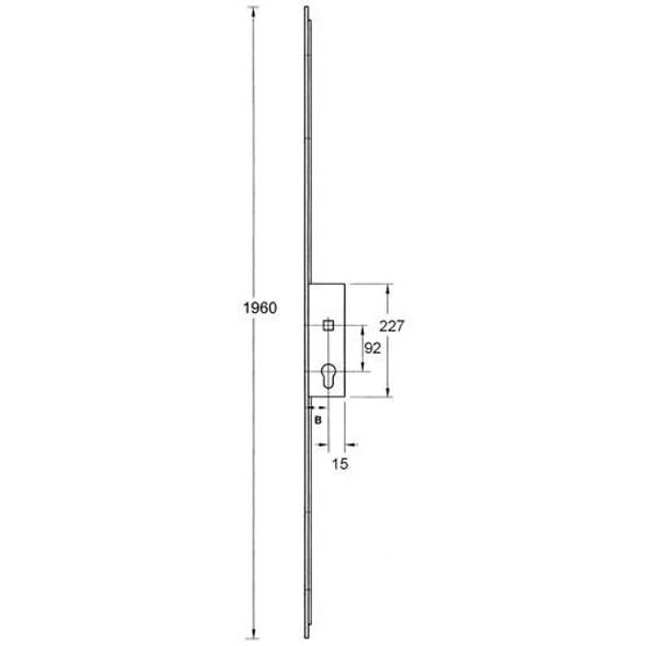 Fullex XL Slave Lock, Lift lever L/L