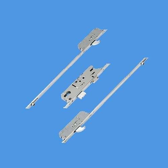 Fuhr 856 Type 3, Latch, Deadbolt, 2 Rollers and 2 Hooks, Lift lever L/L - FU859T335