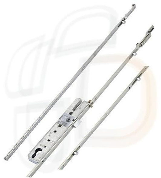 Maco Multipoint 2 Piece, Latch Only, 4 Rollers with Extension Piece, 35mm Backset