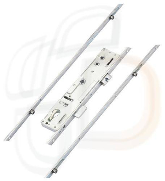 Mila Master Multipoint, 2 Rollers, Latch and Deadbolt Attachments for Shootbolts