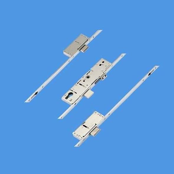 ERA Latch, Central Deadbolt and 2 Deadbolts, Option 2 - 1380mm between deadbolts - 54350019LA