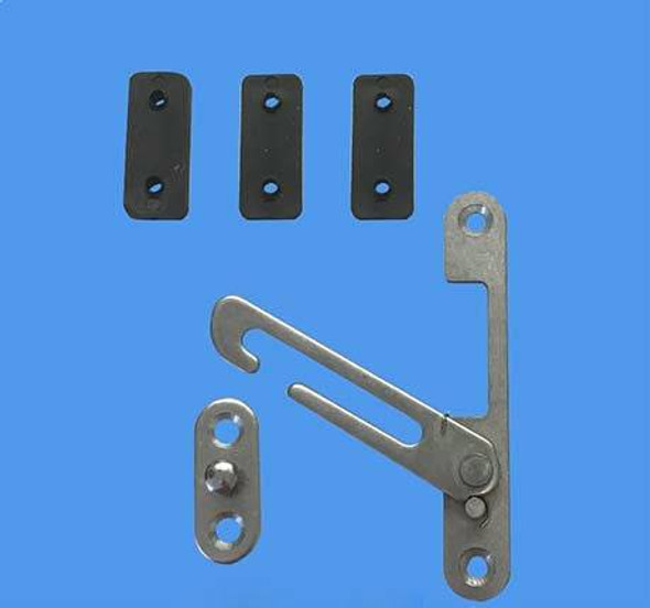 Universal Concealed Restrictor Catch for UPVC Windows