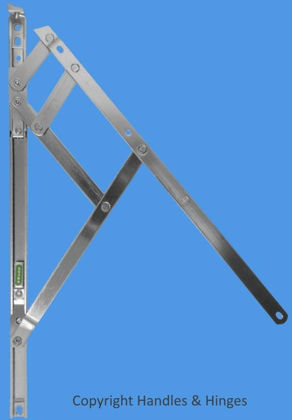 12 Fire Escape and Restricted UPVC Window Hinges