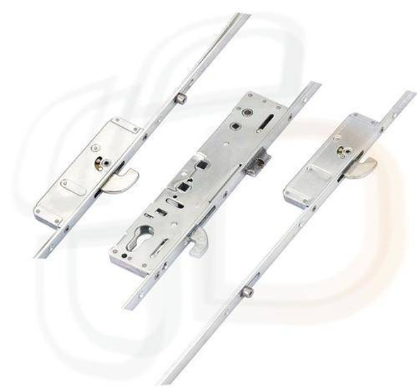 Securistyle Multipoint, 3 Hooks, 2 Rollers, Attachments for Shootbolts