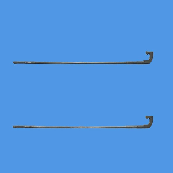 UPVC Letterbox Hinge Pin Flap Spring - Hook end