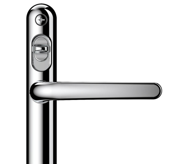 High Security Door Handle - 92mm centre, 211mm screws, Lever/Lever by Lock Lock
