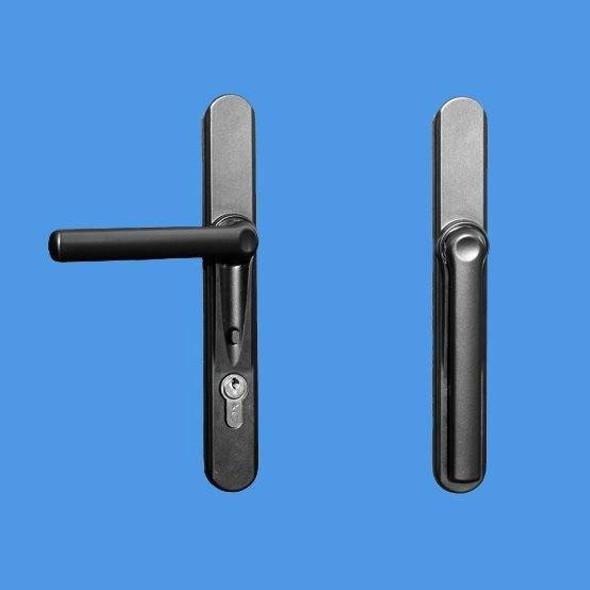 Door Blind Handles - Door handles for use with Window and Door Blinds- WHITE