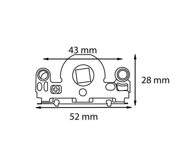 MACO Patio Door Lock Drive Gearbox