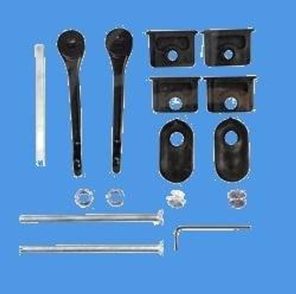 Fullex 506 Series 2 Patio Handle Set in White