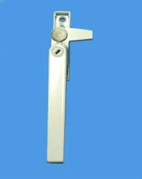 Cotswold Cockspur UPVC Window Handle in WHITE