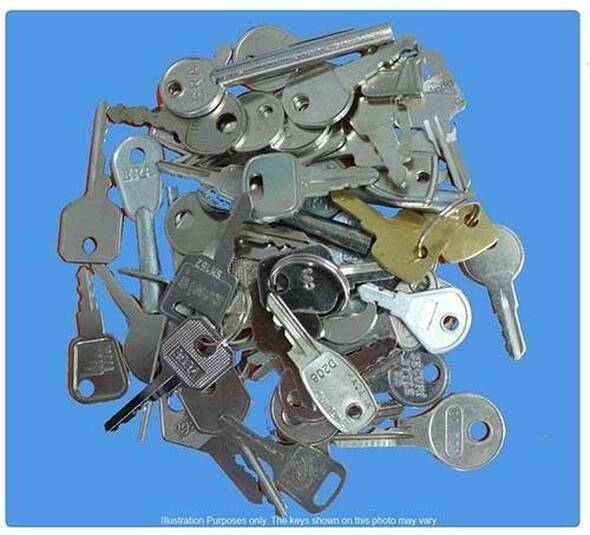 Window Keys - Full Set of 67 keys
