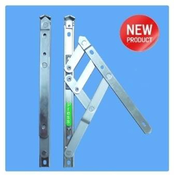 UPVC Window Hinges with Restrictor - 16 UNIVERSAL Side Hung