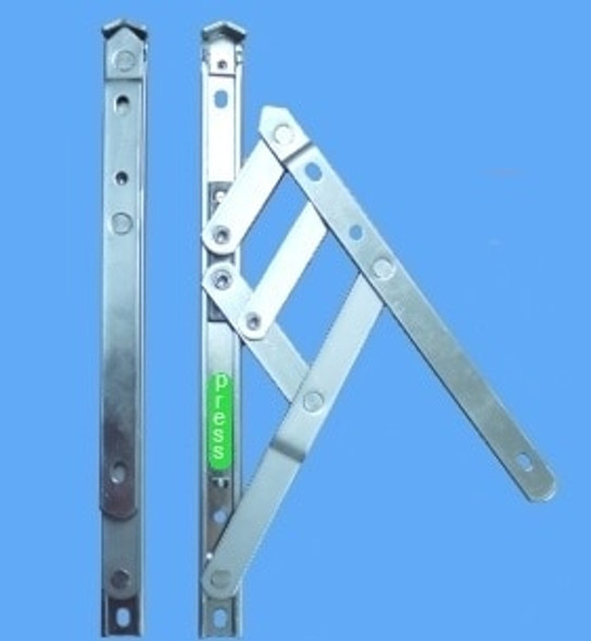 UPVC Window Hinges with Restrictor - 12 UNIVERSAL Side Hung