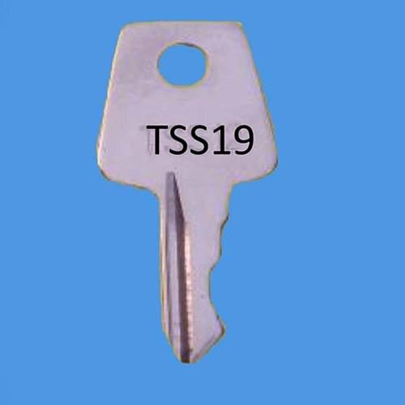 Laird Window Handle Key ref TSS19 - EE36