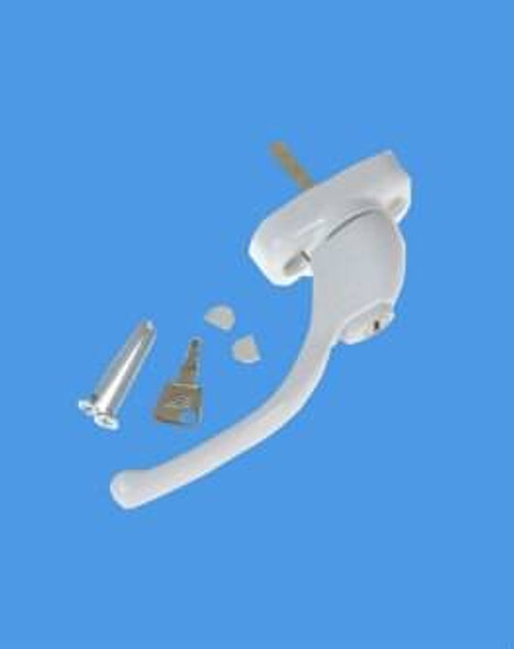 Tilt, Lock and Turn Handle in White - Sensei Style