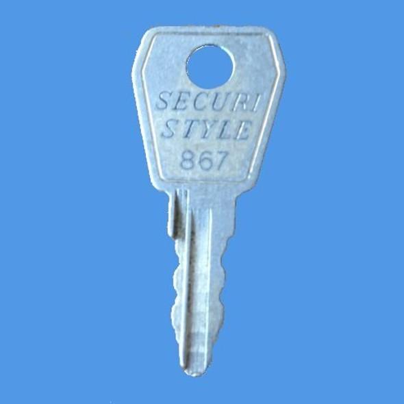 Securistyle 867 Merlin Window Handle Key - EE56