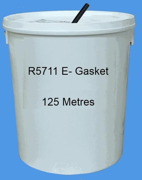Reddiplex R5711 E-Gasket Double Glazing Seal in WHITE, Bulk Purchase, 125m