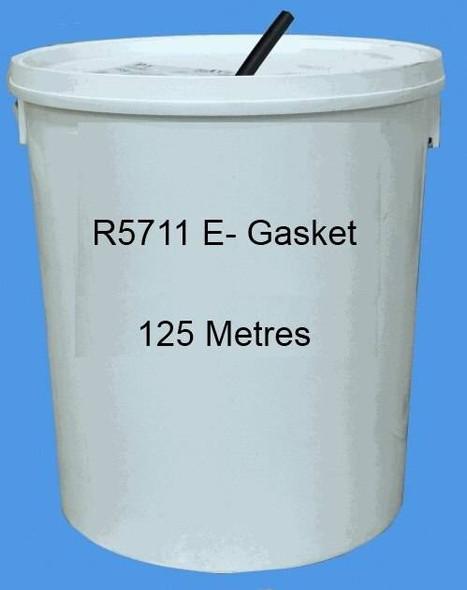 Reddiplex R5711 E-Gasket Double Glazing Seal in BLACK, Bulk Purchase, 125m