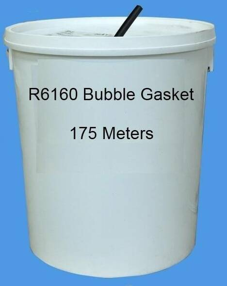 Reddiplex R6160 Bubble Gasket Double Glazing Seal in WHITE, Bulk Purchase, 175m