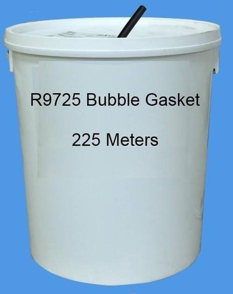 Reddiplex R9725 Bubble Gasket Double Glazing Seal in BLACK, Bulk Purchase, 225m