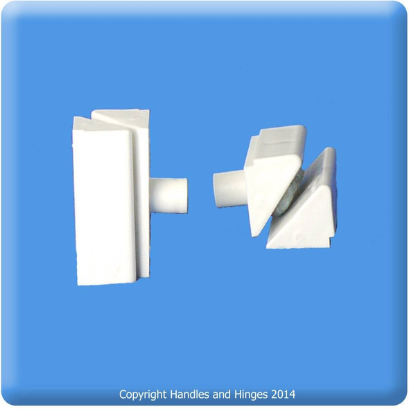 Closing Wedges for UPVC Frames