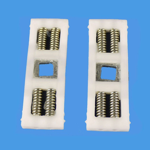 Spring Cassette Cartridge for UPVC Door Handles, with Central Spindle, Pair