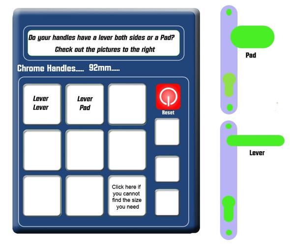Door Handle Calculator - Simple guide to choose your handles