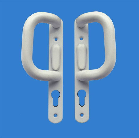 Patio Handle Set in White to suit Fullex 502