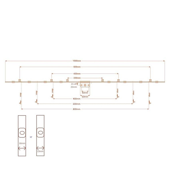 VERSA Inline/Offset Espag 21/Crop 6/M 13FP