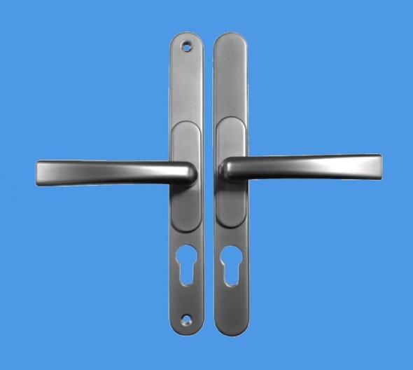 Universal door Handles in Satin/ Brushed Chrome