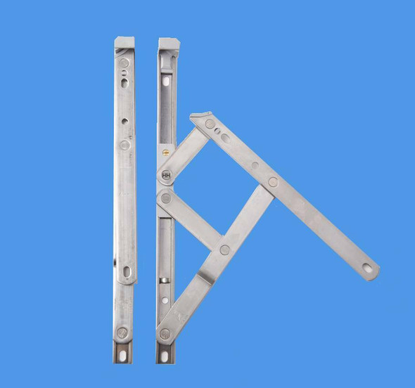 16 Top Hung UPVC Window Hinges, Slimline Defender