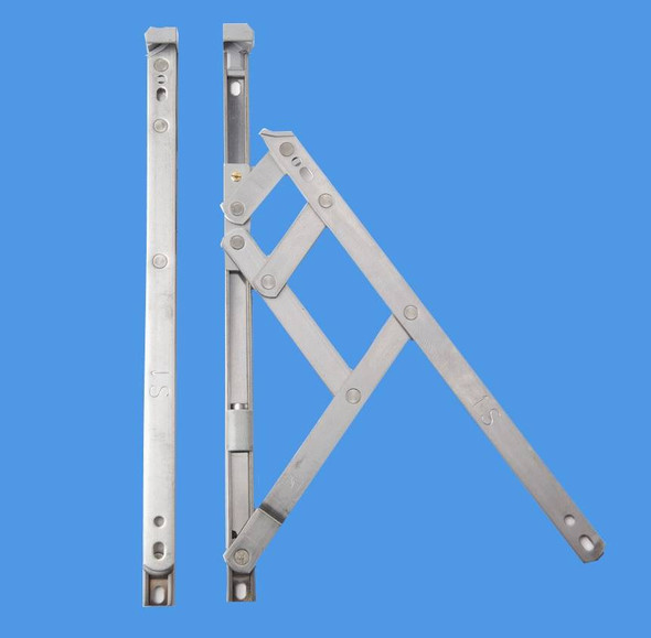 12 Side Hung UPVC Window Hinges, Slimline Defender