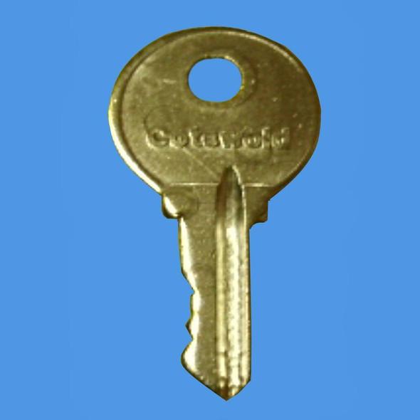Cotswold 2 Window Handle Key - EE17