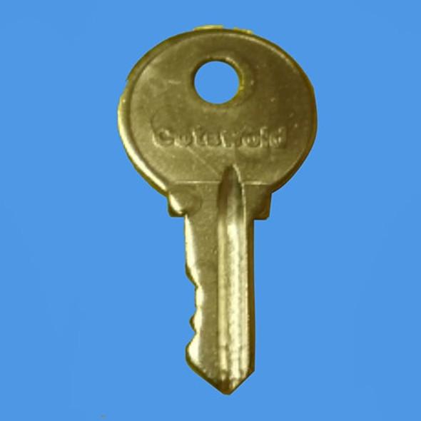 Cotswold 3 Window Handle Key - EE18