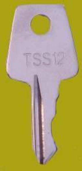 Laird Window Handle Key ref TSS12 - EE19
