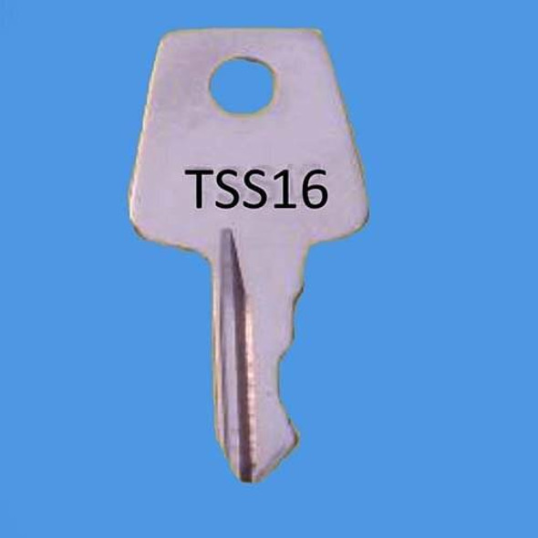 Laird Window Handle Key ref TSS16 - EE23