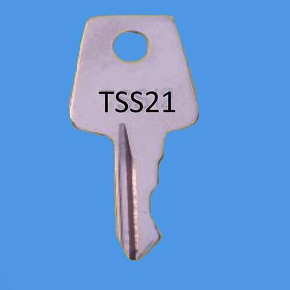 Laird Window Handle Key ref TSS21 - EE27