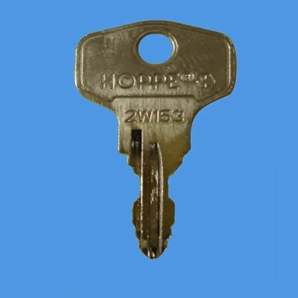 Hoppe 2W153 Tilt and Turn Window Handle Key - EE75