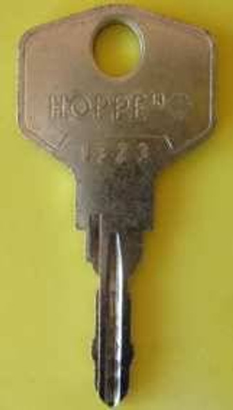 Hoppe 2W1323 Tilt and Turn WIndow Handle Key - EE78