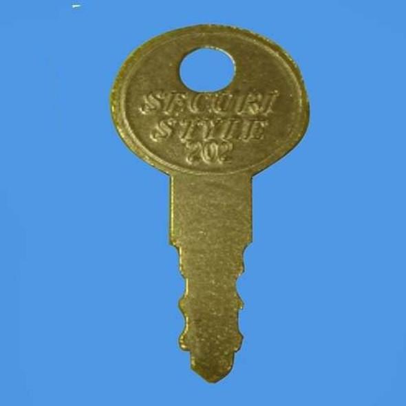 Securistyle 202 Window Handle Key - EE38